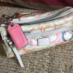 Small cute coach purse